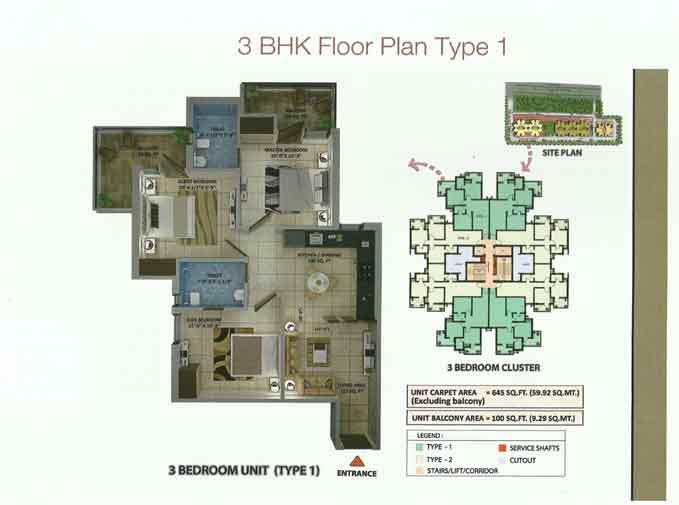 3 BHK Plan